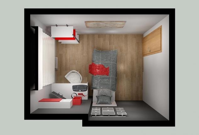 Habitacion interiorismo Ourense