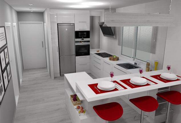 reforma y diseño de cocina ourense