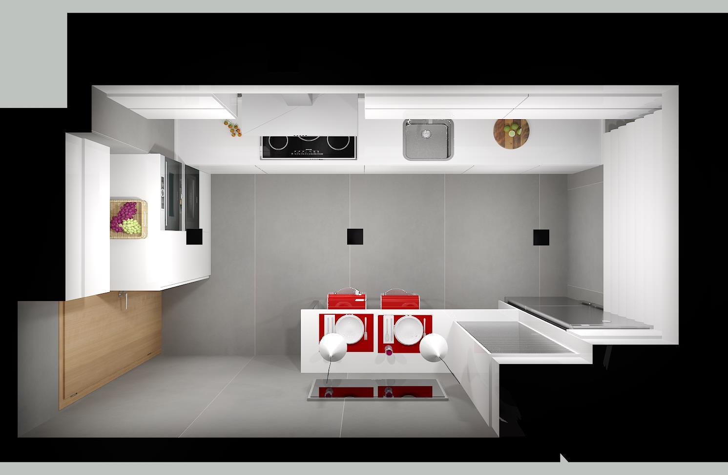 reforma y diseño cocina en ourense - Emagres S.L.